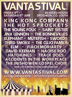 Vantastival 2016 - first set of acts announced