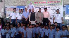 Press Note- મેયર શ્રી ગૌતમ શાહની Gautam Shah ઉપસ્થિતિમાં રેલવેસ્ટેશન દ્વારા ખાતે સ્વચ્છતા જાગૃતિ દ્વારા વડાપ્રધાન શ્રીના જન્મદિનની ઊજવણી. #CleanAhmedabad Swachh Bharat Mission - Urban Swachh Bharat Mission, India