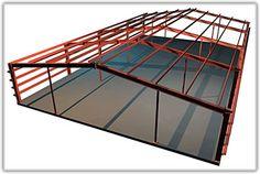steel rigid frames used for intermediate spans