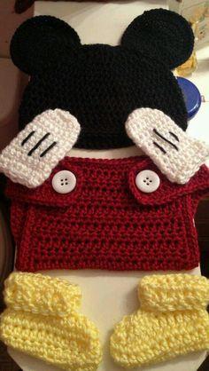 Mickey crochê