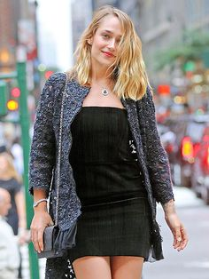 Star Tracks: Monday, June 6, 2016 | SIMPLE AND CHIC | Girls star Jemima Kirke goes for a monochromatic look as she attends the Chanel Fine Jewelry Dinner at the New York Public Library on Thursday.
