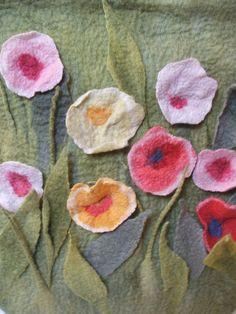 Hand Felted Wool OOAK Bag Ready tio Ship by beatassoul on Etsy, $119.00