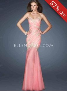 2013 New Style Trumpet/Mermaid Sweetheart Sleeveless Floor-length Tulle Prom Dress/Evening Dresses #FC021 - See more at: http://www.ellendress.com/special-occasion-dresses/formal-evening-gowns.html#sthash.BC3Qzr4I.dpuf