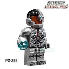 Building Blocks Cyborg Watchman Loki Scarecrow Joker DC Super Heroes Star Wars Action Bricks Kids DIY Toys Hobbies PG288 Figures #Affiliate