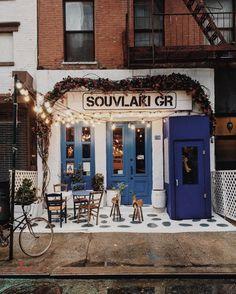Restaurante grego delicioso em NY