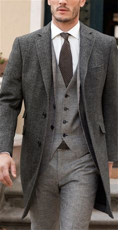 Grey Three Piece