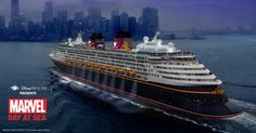 Marvel Days at Sea, only aboard Disney Cruise Line!
