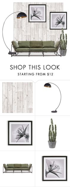 """""""Wood Plank Living Room #5"""" by graham-brown ❤ liked on Polyvore featuring interior, interiors, interior design, home, home decor, interior decorating, Stephen Kenn and living room"""