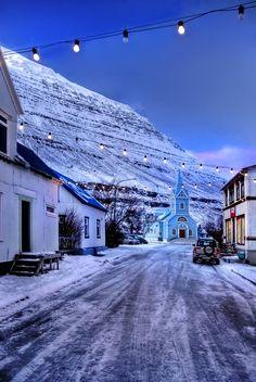 Iceland - Seydisfiordur by http://PatiMakowska.deviantart.com on @deviantART