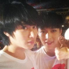 Heechul and Lay