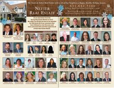 The Netter Real Estate Team extends all a beautiful holiday season!