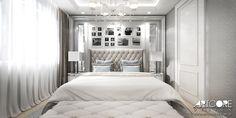 Piękna i wygodna sypialnia. Projekt wnętrza w stylistyce klasycznej. Więcej na www.artcoredesign.pl .  #bedrooom #glamour #glamourbedroom #interiordesignideas