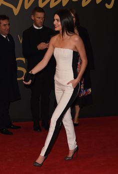 """"""" Kendall Jenner at the 2014 British Fashion Awards in London """""""