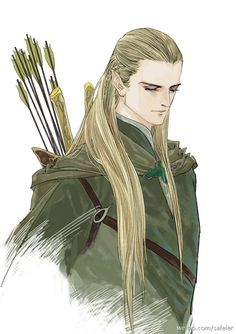 He's soooooo gorgeous! I adore him! Legolas And Thranduil, Aragorn, Fellowship Of The Ring, Lord Of The Rings, Fantasy Character Design, Character Art, Lotr, Elven Queen, Mirkwood Elves