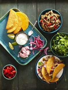 Pork Carnitas Tacos #healthyfamilydinner #healthy #slowcooker #pork