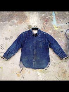 countryandtown: Mister Freedom - The Denim Douche Mode Masculine, Denim Shirt Men, Denim Jeans, Denim Top, Estilo Denim, Denim Boots, Rugged Style, Japanese Denim, Raw Denim