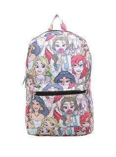 Store it all in this roomy Disney Princess backpack.