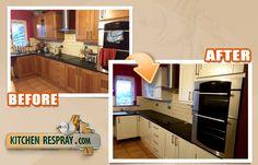 Kitchen Respray is the Dublin, Ireland's leading kitchen, furniture respraying, restoration and refurbishment company.