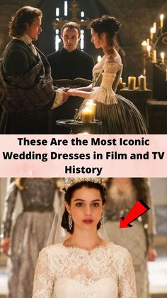 These Are the #Most Iconic #Wedding #Dresses in Film and TV #History