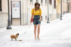 SALOPETTE PANTALONCINO & SUMMER TIPS fashion blogger italia