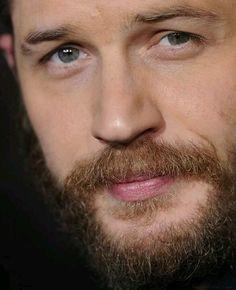 Tom Hardy bearded