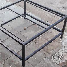 Base de ferro para mesa de centro #decoracao #design #arquitetura