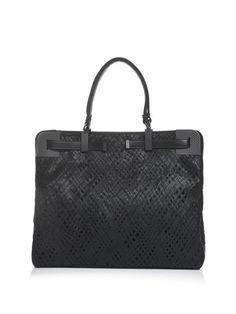 1bf77a4ae8 BOTTEGA VENETA Leather stitch work woven bag Court Shoes