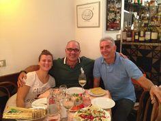 Dopo la partita Roma-Cagliari, al Piccolo Arancio, con Benedetta Sidoni