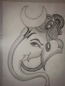 Explore collection of Easy Ganesh Drawing Ganesha Drawing, Ganesha Painting, Ganesha Art, Ganpati Drawing, Lord Ganesha, Ganesha Sketch, Pencil Drawing Pictures, Pencil Art Drawings, Drawing Ideas