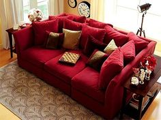 I want this couch too! ... guess I need a bigger house!