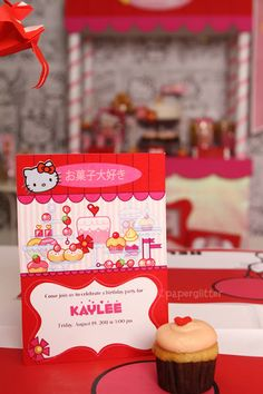 Hello Kitty sweet shoppe Birthday Party: The Details