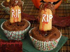 Cimitero di Muffin,ricetta di Halloween
