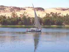Sailing the Nile, Egypt.