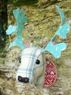 Hey, I found this really awesome Etsy listing at https://www.etsy.com/listing/113214165/fabric-deer-head-pdf-sewing-pattern