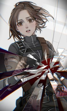 Sad Anime, Otaku Anime, Anime Guys, Manga Anime, Anime Art, Attack On Titan Fanart, Attack On Titan Levi, Eren Aot, Ereri