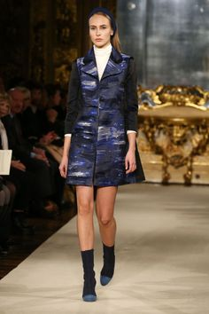 Chicca Lualdi. See all the best looks from Milan fashion week fall 2015.