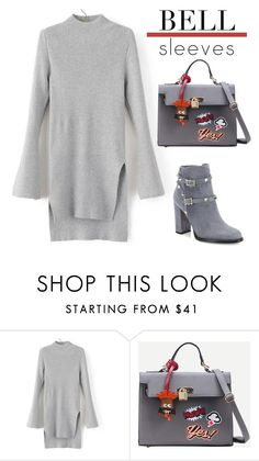 """BELL SLEEVES"" by nicolevalents ❤ liked on Polyvore featuring Valentino"