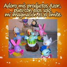 Hermosos huevitos de Pascua, ¡decóralos con #AZOR!