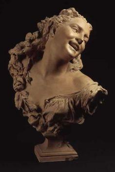 Bacchante aux roses by Jean-Baptiste Carpeaux, 1872.