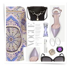 """""""Style#1285"""" by mussedechocolate ❤ liked on Polyvore featuring See by Chloé, Emilio Pucci, Alexander Wang, Balenciaga, MeditationRings, Bottega Veneta and Lancôme"""