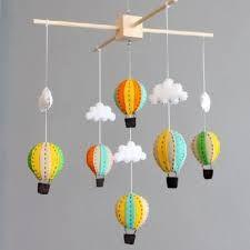 Resultado de imagem para mobile balão feltro