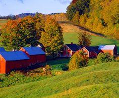 Jenne Farm, Vermont at sunrise