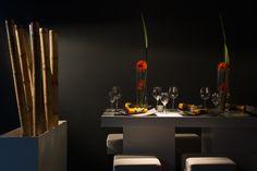 Schöne Tischdekorationen in unterschiedliche Stilrichtungen