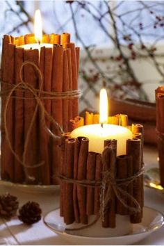 Candles And Candle Holders …