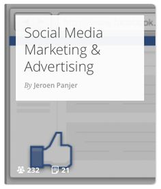 Important articles about social #media #marketing with a focus on (paid) advertising on Facebook and Twitter