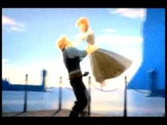 Anna and Kristoff from Frozen
