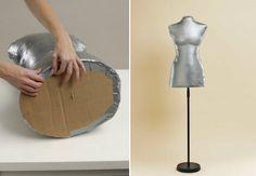 Как сделать портновский манекен своими руками - мастер-класс