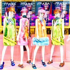"PRADA, Old Bond Street, London, UK, ""We used to talk for hours.... Look at us now"", pinned by Ton van der Veer"