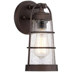 Averill Park Bronze Outdoor Wall Light