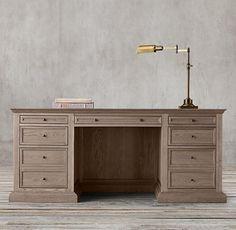 French Panel Desk